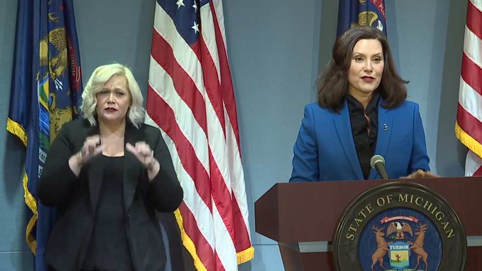 Governor Whitmer Says Gatherings Of 10 People Could Be Allowed By End Of Month Wpbn