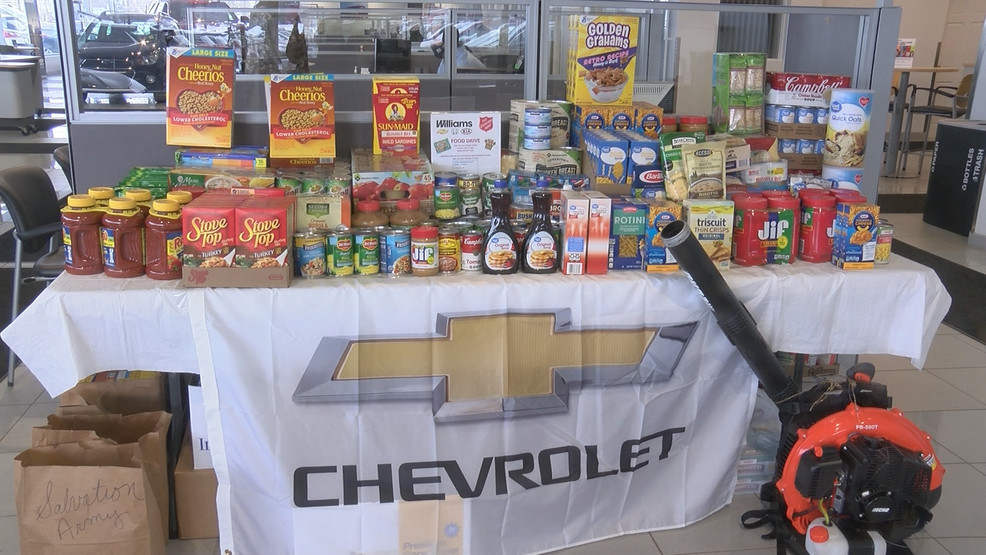 Williams Chevrolet Holds Food Drive With Incentive Wpbn