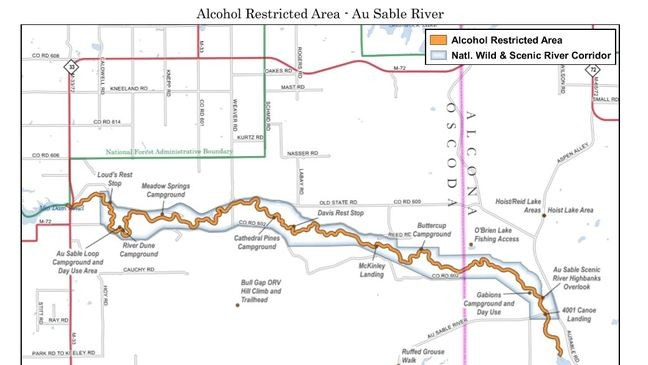 Drinking alcohol on some Michigan rivers could cost you $5k or 5 ...