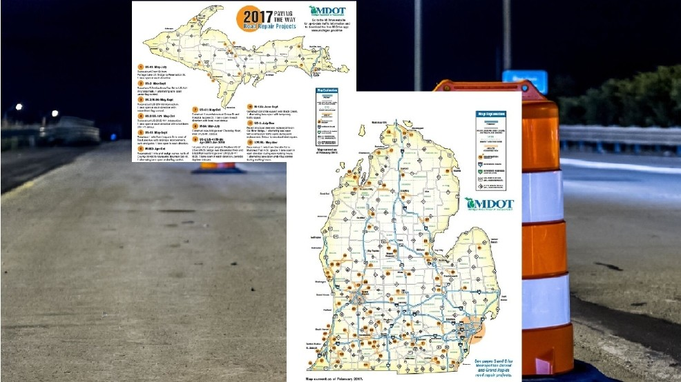 Mdot Construction Map Plan ahead: MDOT releases 2017 construction map | WPBN