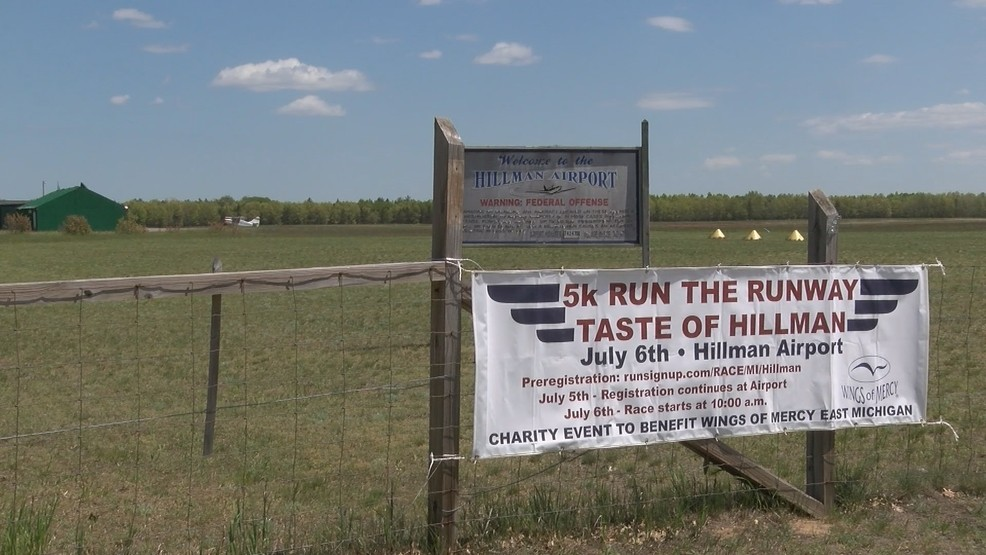 Wings of Mercy fundraiser 5K to be held at Hillman Airport